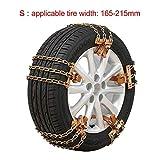 NO LOGO HWW-LUNTAIPEIJIAN, 6pcs / Set Auto-Reifen Winter-Verkehrssicherheit Reifen Schnee...