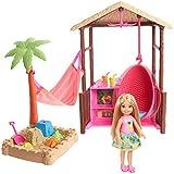 Barbie FWV24 - Reise Chelsea Ferieninsel Htte mit Sandkasten und Hngematte
