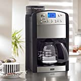 BEEM FRESH-AROMA-PERFECT Filterkaffeemaschine mit Mahlwerk - Glas | Thermostar | BASIC SELECTION |...