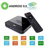 Android 9.0 Mini TV-Box H96 TV Box RK3328A Smart Media-Box 2 GB + 16 GB Support 4K 2.4/5G WiFi 3D...