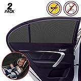 Auto Seitenfenster Sonnenschirm,Auto Sonnenschutz Kinder Sonnenblende Auto mit UV Schutz...