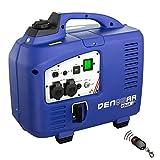 DENQBAR 2,5 kW Inverter Stromerzeuger Notstromaggregat Generator mit eBLUE Technologie, E-Start und...