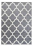 Orientalisches Marokkanisches Teppich - Dichter und Dicker Flor Modern Designer Muster - Ideal Für...
