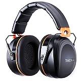 Gehörschutz, Tacklife HNRE1 Kapselgehörschutz mit SNR 34 dB und CE-Zertifizierung, verstellbar und...