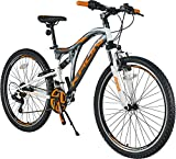 KRON ARES 4.0 Fully Mountainbike 26 Zoll   21 Gang Shimano Kettenschaltung mit V-Bremse   16.5 Zoll...