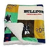 Hunde-Fleecedecke, waschbar, weich, warm, Sherpa-Plüsch, Haustier-Decken für Hunde, Welpen,...