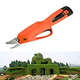 OUTGJL Elektrische Gartenschere, Kabellos, Elektrische Gartenschere Für Obstbäume Mit Dickem AST...