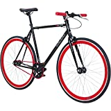 Galano 700C 28 Zoll Fixie Singlespeed Bike Blade 5 Farben zur Auswahl, Rahmengrsse:53 cm,...