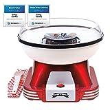 Gadgy ® Zuckerwattemaschine für Zuhause | Retro Cotton Candy Machine | mit Zucker oder Zuckerfreie...