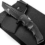 Wolfgangs UNDIQUE Einhand-Messer/Survival-Messer mit Multifunktions-Klinge/Outdoor-Messer in...