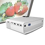 EJOYDUTY Beamer, LCD LED Full HD Theaterprojektor, Unterstützt 1200 Lumen, 1080p,...