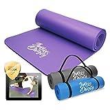 Jung & Durstig Original Yogamatte | Fittnessmatte inklusive Bauch Beine Po Workout als Ebook |...
