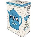 Nostalgic-Art Retro Teedose Home & Country – Tea – Geschenk-Idee für Tee-Liebhaber, Blech-Dose...