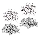 IPOTCH 600 pcs Aluminium Teelichtbecher Candle Wick Holder Container Für DIY Candle Making