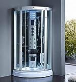 XXL Luxus LED Dampfdusche Dusche Duschtempel Komplettdusche Duschkabine+Radio inkl. Spedition