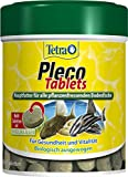 Tetra Pleco Tablets (Grünfutter-Tabletten mit einem hohen Anteil an Spirulina-Algen, Hauptfutter...