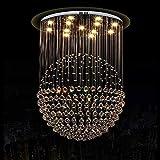 Wandlicht Lampe Wand-Licht / Beleuchtung Kristall-Kronleuchter von Aufhängelinie Lichtern Bliving...