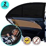 WIN.MAX Sonnenschutz Auto,Sonnenschutz Auto Baby mit Zertifiziertem UV Schutz,Universal Sonnenblende...