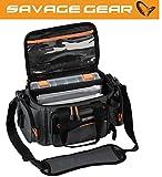 Savage Gear Soft Lure Specialist bag S Angeltasche 21x38x22cm, Ködertasche, Anglertasche, Tasche...