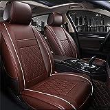 Maybesky Auto-Kissenbezug, 1 Stck, PU-Leder, Autositzbezug fr 5-Sitzer (Farbe: Kaffee, Gre:...