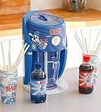Slush Puppie Slushie-Maschinen-Set, Blauer Himbeersirup, roter Kirschsirup, 4 Pappbecher und...
