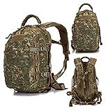 Poooooi Militärrucksack Tactical Outdoor Adventure Mountain Camping 25L Wasserdicht Wearable...