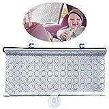 WEKON Auto Sonnenblende, Baby Kinder Sommer UV-Schutz, Sonnenschutzrollo Seitenfenster, Sonnenschutz...