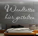 Sprüche Wandtattoo selber gestalten Wunschtext Wandaufkleber Name Datum Zitat oder Spruch mit...