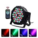 LED Par Light Disco Licht, 36W RGB Blitzlicht, 7 Beleuchtungsmodi, Sprachsteuerung / DMX512 /...