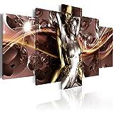 murando - Bilder 200x100 cm Vlies Leinwandbild 5 TLG Kunstdruck modern Wandbilder XXL Wanddekoration...