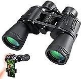 Hochleistungs Fernglas CrazyFire 10x50 Ferngläser Nachtsicht Wasserdicht Feldstecher FMC Binoculars...