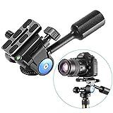 Neewer Heavy Duty Kamera Stativ Griff Kugelkopf mit 1/4 Zoll Schnellwechselplatte, Dreidimensionale...