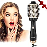 Aibesser Haartrockner, 5 In 1 Upgrade Multifunktions Warmluftbürste Hair Dryer & Volumizer...