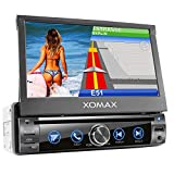 XOMAX XM-DN763 Autoradio mit Mirrorlink, GPS Navigation, Navi Software, Bluetooth...