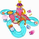 Toptrend Hamster Automatisches Rennspielzeug Kinder, Mädchen Kleiner Junge Geschenk Spielzeug...
