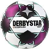Derbystar Unisex– Erwachsene Bundesliga Brillant Replica Fußball, Weiss Magenta Mint, 5