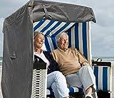 North Finest Premium Strandkorbhlle aus 600D Oxford | wasserdichte Strandkorb Schutzhlle |...