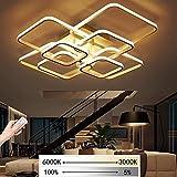 LED Dimmbare Deckenleuchte Wohnzimmerlampe Mit Fernbedienung Moderne Minimalistische Deckenleuchte...