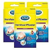 Scholl Hornhaut-Pflaster zur Entfernung von Hornhaut an den Füßen, 3 x 4 Pflaster