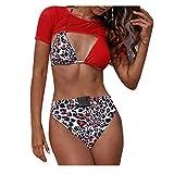 LIGESAY Damen Sexy Afrikanischen Druck Swimwear Geraffte Plus Size Bademode Badeanzüge Kurven...