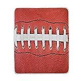 Hunihuni American Football Überwurfdecke, leicht, warm, kuschelig, Plüsch, für Kinder, Jungen und...