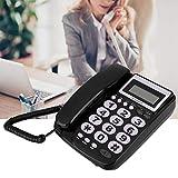 Kabelgebundenes Telefon mit Anrufbeantworter LCD-Display Klarton Festnetztelefon Kabelgebunden als...