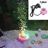 XXDYF Aquarium Bubble Beleuchtung, LED Teich Lampe für Aquarium für Beleuchtung und Verschönerung...