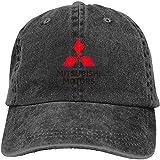 Herren Damen Baseball Caps,Hüte, Classic Mützen, Neue personalisierte Mitsubishi-Motors Logo...