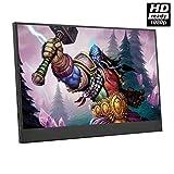 WangT 12 5 Zoll Tragbarer Monitor Tragbarer HDMI-Monitor Mit Erweitertem 1080p-HD-Bildschirm Und...