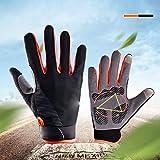 ZZWBOX Fahrradhandschuhe Herren Damen MTB Handschuhe Rennrad Radsport Touchscreen Winterhandschuhe...