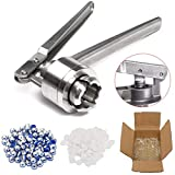 BALALA BIAN Handwerkzeuge Manuelle 20MM Crimper Hand Siegelring Machine Tool mit 100 Flaschen und...