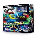 Magic Tracks Starter Set | Autorennbahn fr Kinder ab 3 Jahren | Autobahn Kinder | Auto Spielzeug Set...