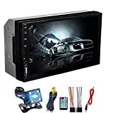 AFCITY Auto Spieler 7inch 2Din Auto MP5 IPS Touch Screen Stereo Radio MP3 FM Bluetooth mit...