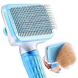 ACE2ACE Haustier Hundebürste Katzenbürste, Haustier Bürsten, Haar Entferner Haustierbürste für...